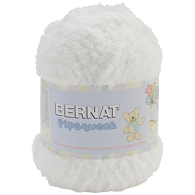 Pipsqueak Big Ball Yarn, Whitey White