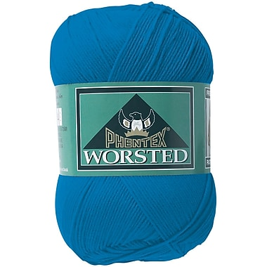 Phentex Worsted Solids Yarn, French Blue