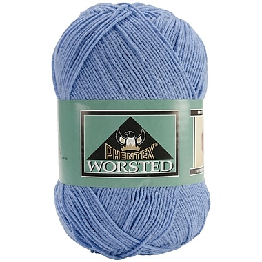 Phentex Worsted Solids Yarn, True Denim