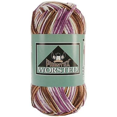 Phentex Worsted Ombres Yarn, Grape Vine