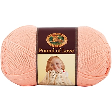 Pound Of Love Baby Yarn, Creamsicle