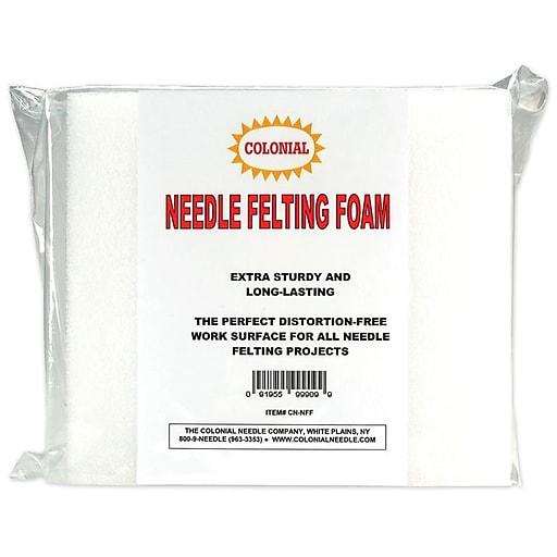 """Needle Felting Foam, 9""""X8""""X2"""" (CNNFF)"""