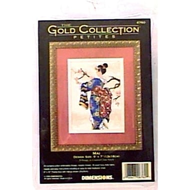 Gold Collection Petite Mai Counted Cross Stitch Kit, 5