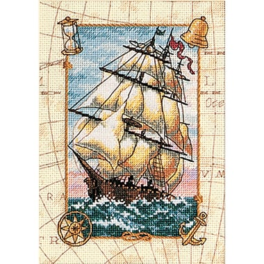 Gold Collection Petite Voyage At Sea Counted Cross Stitch Kit, 5