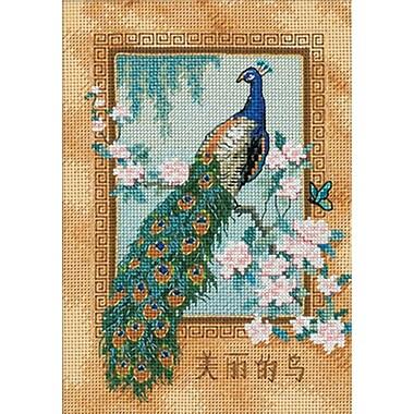 Gold Collection Petite Beautiful Bird Counted Cross Stitch Kit, 5