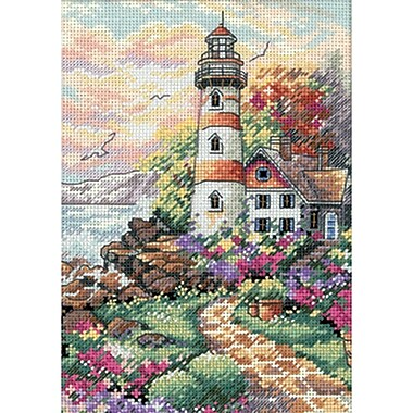 Gold Collection Petite Beacon At Daybreak Counted Cross Stitch Kit, 5