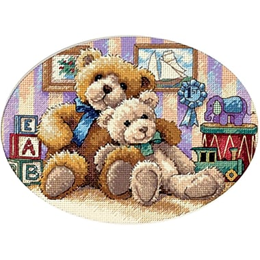 Gold Collection Petite Warm & Fuzzy Counted Cross Stitch Kit, 7