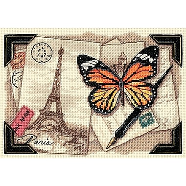 Gold Collection Petite Travel Memories Counted Cross Stitch Kit, 7