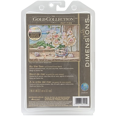 Gold Collection Petite By The Sea Counted Cross Stitch Kit, 7