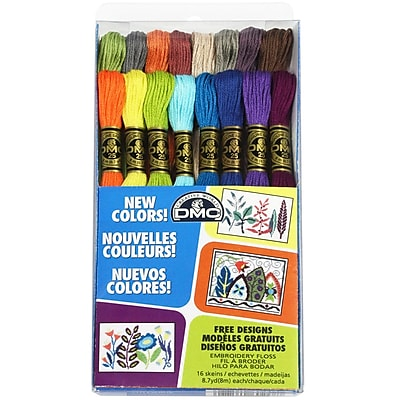 DMC Embroidery Floss Pack, 8.7 Yards