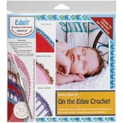 EdgIt Piercing Crochet Hook & Book Set