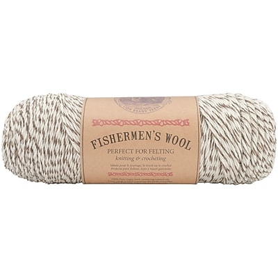 Fishermen's Wool Yarn, Oak Tweed