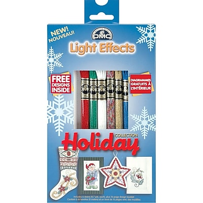 DMC Light Effects Floss Pack, Holiday