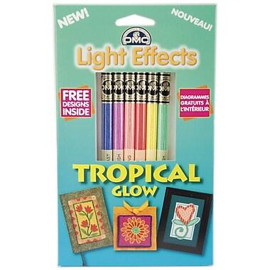 DMC Light Effects Floss Pack, Tropical Glow