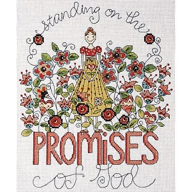Heartfelt Promises Counted Cross Stitch Kit, 8