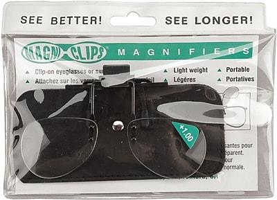 Magni-Clips Magnifiers, +1.00 Magnification (MC100)