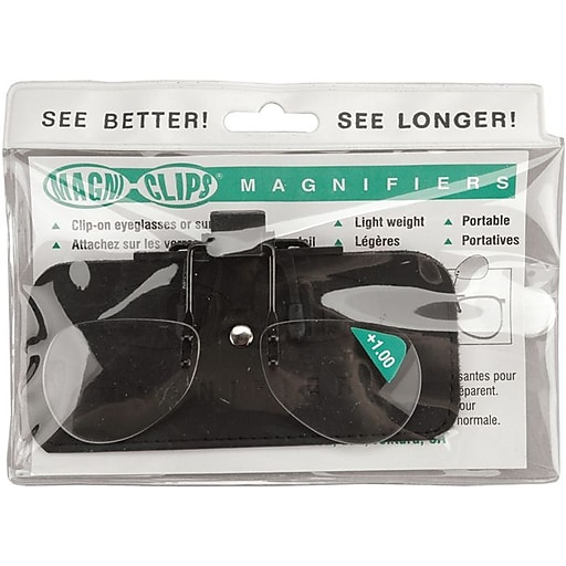 Magni-Clips Magnifiers, +1.00 Magnification (MC100)