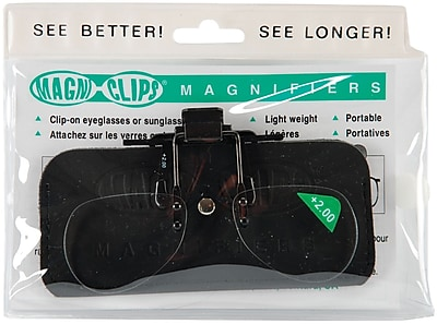 Magni-Clips Magnifiers, +2.00 Magnification