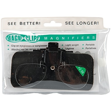 Magni-Clips Magnifiers, +2.50 Magnification