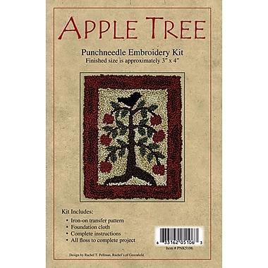 Apple Tree Punch Needle Kit, 3
