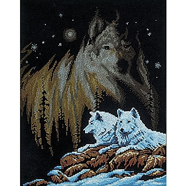 Northern Lights Counted Cross Stitch Kit, 11