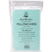 """Pillowcase Pair , Queen 20""""X37"""", White"""