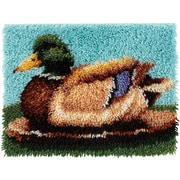 "Wonderart Latch Hook Kit 15""X20"", Duck"