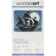 "Wonderart Latch Hook Kit 15""X20"", Pirate Ship"