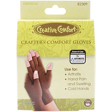 Creative Comfort Crafter's Comfort Glove, Medium