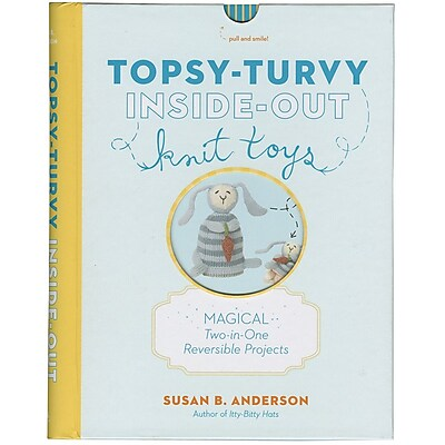 Artisan Books, Topsy Turvy Inside Out Knit Toys