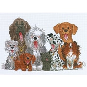 """Suzy's Zoo Dogs Of Duckport Counted Cross Stitch Kit-15""""X10"""" 14 Count"""
