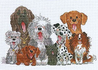 Suzy's Zoo Dogs Of Duckport Counted Cross Stitch Kit-15