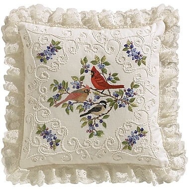 Birds And Berries Candlewicking Embroidery Kit, 14