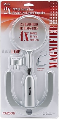 MagniLamp Flexible Arm Lighted Magnifier