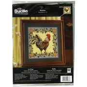 "Rooster Counted Cross Stitch Kit, 12-1/2""X12-1/2"" 14 Count"