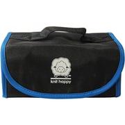 Knit Happy Fold 'n Go Notions Box, Black/Blue