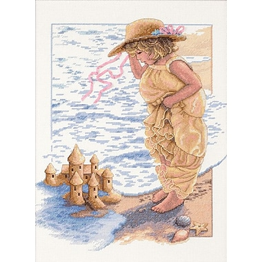 Sandcastle Dreams Counted Cross Stitch Kit, 11