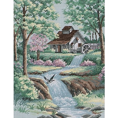 Peaceful Stream Counted Cross Stitch Kit, 11