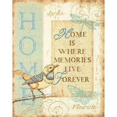 Home Memories Counted Cross Stitch Kit, 10