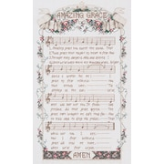 "Amazing Grace Counted Cross Stitch Kit, 12""X20"" 14 Count"