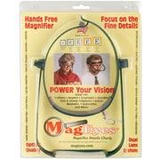 MagEyes Magnifier-#2 Single Lo - Dark Green