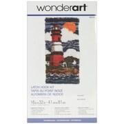 "Wonderart Latch Hook Kit 16""X32"", Lighthouse"