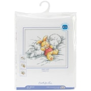"""Baby W/Rabbit Counted Cross Stitch Kit, 8""""X7-1/8"""" 14 Count"""