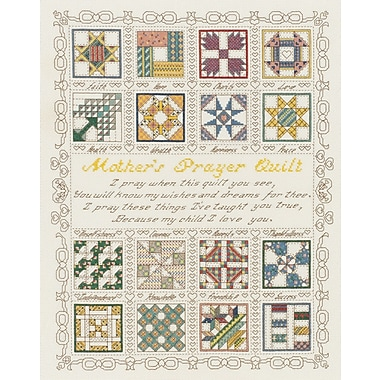 A Mother's Prayer Counted Cross Stitch Kit, 15