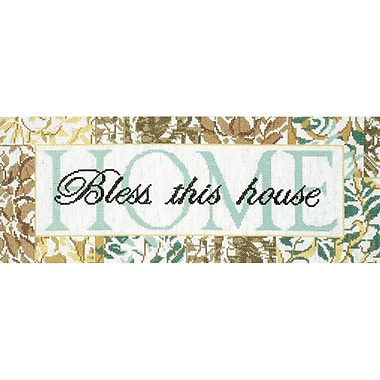 Bless This House Counted Cross Stitch Kit, 7