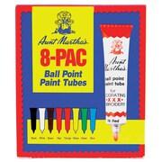 Aunt Martha's Ballpoint Paint Tubes, Assorted Colors