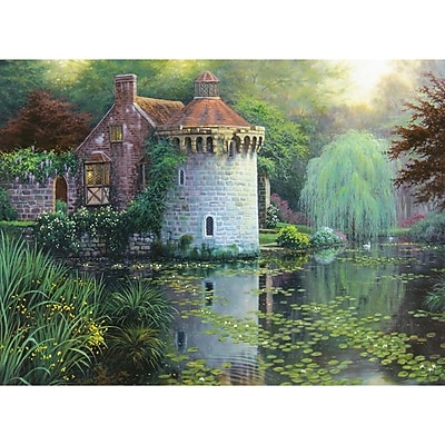 Scotney Castle Garden Counted Cross Stitch Kit, 16