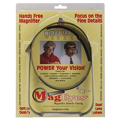 MagEyes Magnifier-Full Circle/Double Lo - Black (5360242)