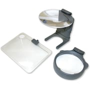 3 In 1 Led Lighted Hands Free Hobby Magnifier by