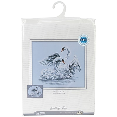 Swan Fidelity Counted Cross Stitch Kit, 15-3/4